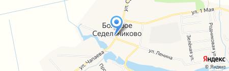 Продуктовый магазин на карте Большого Седельниково