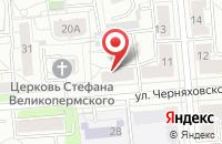 Схема проезда до компании Фирма Полипроекты в Екатеринбурге