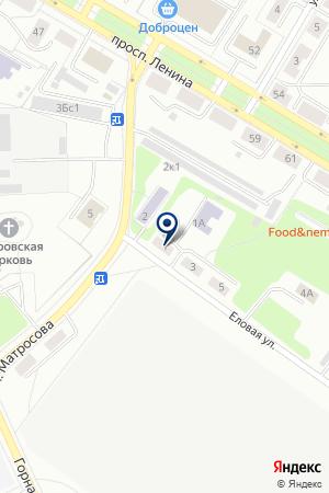 ДЕТСКИЙ САД N 1 АЛЕНУШКА на карте Озерска