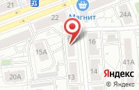 Схема проезда до компании Западно-Сибирская Дорожно-Строительная Компания в Екатеринбурге