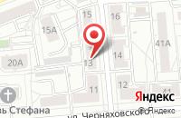 Схема проезда до компании Хоум Стайл в Екатеринбурге