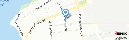 Диадема на карте Екатеринбурга