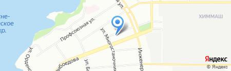 Стелагравер на карте Екатеринбурга