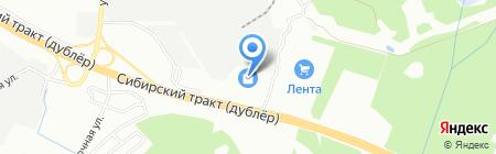 ГУЛЛИВЕР на карте Екатеринбурга