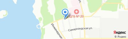 Ваш Цирюльникъ на карте Екатеринбурга