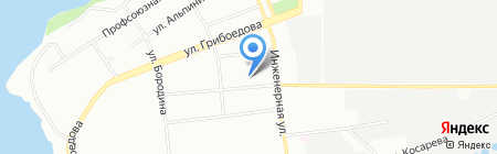Волшебные нити на карте Екатеринбурга