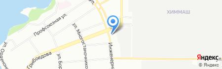 Служба снабжения на карте Екатеринбурга