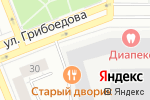 Схема проезда до компании Газпромбанк в Екатеринбурге