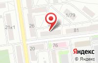 Схема проезда до компании Печатник в Екатеринбурге