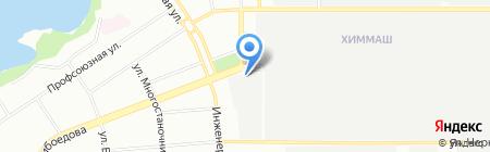 Старый дворик на карте Екатеринбурга