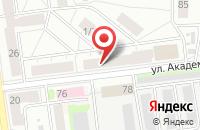 Схема проезда до компании Парфенов в Екатеринбурге