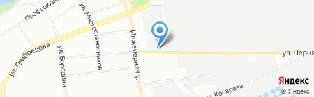 Тектоника на карте Екатеринбурга