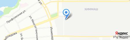 Автошкола-2000 на карте Екатеринбурга