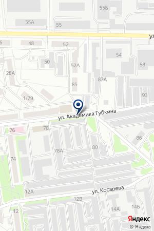 Бункер на карте Екатеринбурга