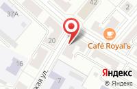 Схема проезда до компании Потребительский Гаражно-Строительный Кооператив №2 в Озерске