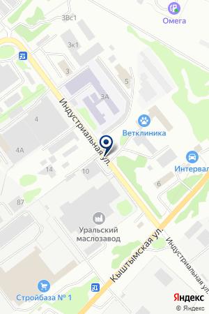 АВТОСЕРВИС ДОКА на карте Озерска
