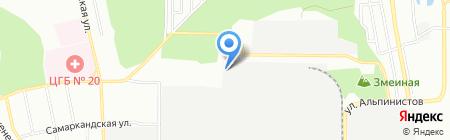 Альянс ceramic на карте Екатеринбурга