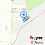 ЭЛЕК-ТПФ на карте Берёзовского