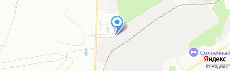 Калиновский на карте Берёзовского