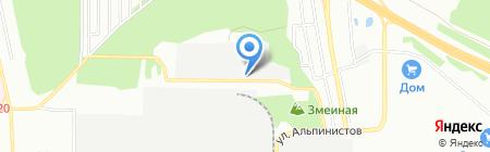 Группа Партнер на карте Екатеринбурга