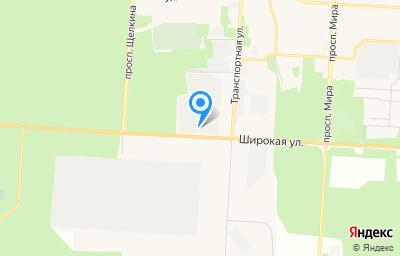 Местоположение на карте пункта техосмотра по адресу Челябинская обл, г Снежинск, тер Площадка 17, зд 60