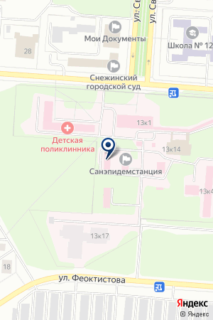 АВТОВОКЗАЛ Г.СНЕЖИНСК на карте Снежинска