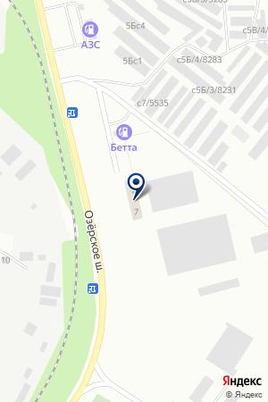АВТОМАГАЗИН на карте Озерска