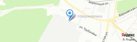 МакФи на карте Екатеринбурга