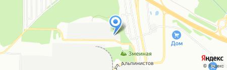 МКМ-альянс на карте Екатеринбурга
