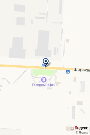 АЗС ГАЗПРОМНЕФТЬ на карте Снежинска