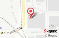 Схема проезда до компании Олторг в Екатеринбурге