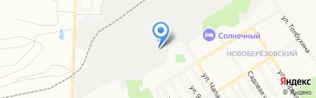 Автомойка на ул. Чапаева на карте Берёзовского