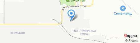 Промэнерго на карте Екатеринбурга