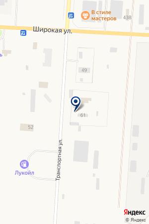 АЗС N 116 ЛУКОЙЛ на карте Снежинска