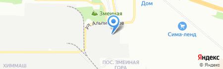 Альфа Каприз на карте Екатеринбурга