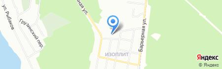 Основная общеобразовательная школа №33 на карте Екатеринбурга