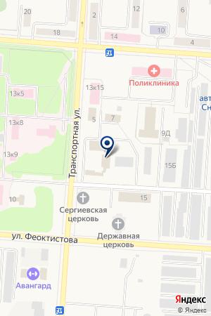 АВТОМОЙКА АВТОДОМ на карте Снежинска