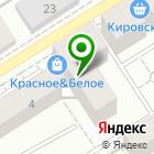 Местоположение компании Калина-Авто