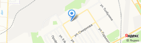 ДенТори на карте Берёзовского