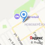 Мелена на карте Берёзовского