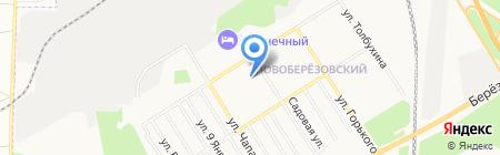 Банкомат Уральский банк Сбербанка России на карте Берёзовского