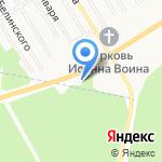 Золотой город на карте Берёзовского