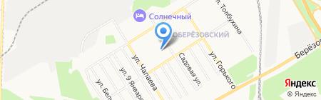 Девайс Плюс на карте Берёзовского