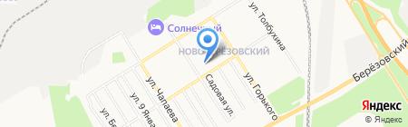 Бэль на карте Берёзовского