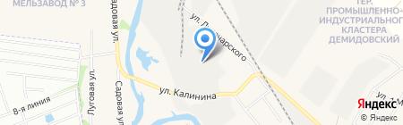 Уральский завод полистирольных и пеноблоков на карте Большого Истока