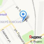 Магазин морепродуктов на карте Берёзовского