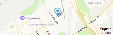 Современник на карте Берёзовского