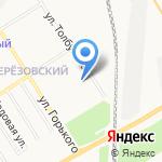 Светлячок на карте Берёзовского