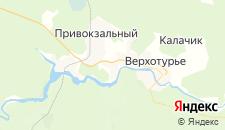 Отели города Верхотурье на карте