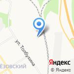Берёзки на карте Берёзовского
